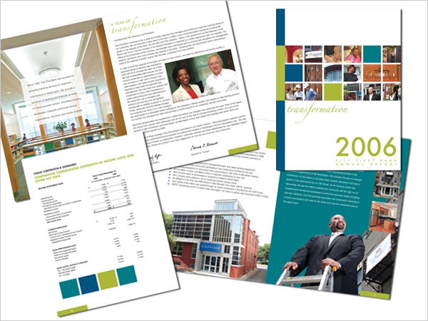 City First Bank Annual Report