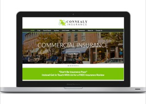 Connealy Insurance Responsive Web Site