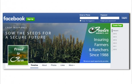 Facebook: Fowler Agency Spring Cover & Profile Imagery