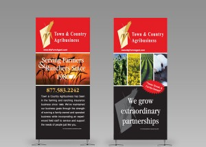 T&C Banner Stands