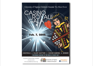 University of Virginia Children's Hospital Fundraiser Poster