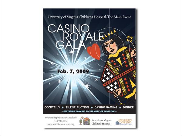 University of Virginia Children's Hospital Fundraiser Poster