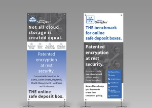 Virtual StrongBox Banner Stands
