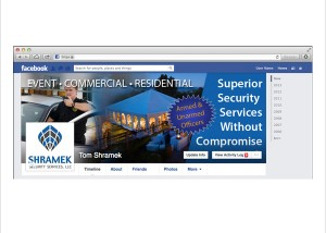 Shramek Security Facebook Imagery